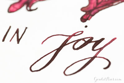 Diamine Oxblood - Ink Sample