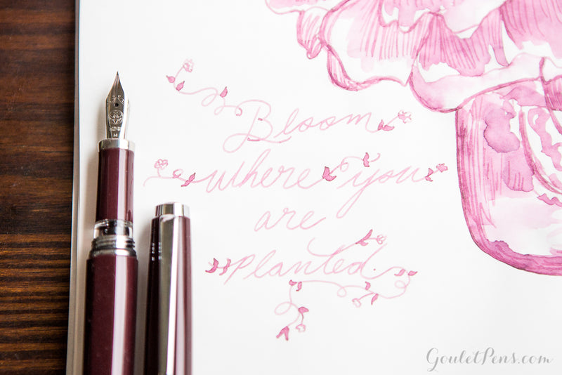 Robert Oster Cherry Blossom - Ink Sample