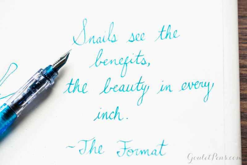 Visconti Turquoise - Ink Sample