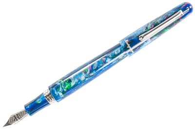 Montegrappa Elmo Fountain Pen - Blue Cross Gentian