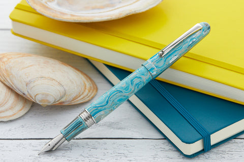 Montegrappa Elmo Fountain Pen - Wave Splash (Limited Edition)