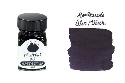 Monteverde Blue/Black - 30ml Bottled Ink