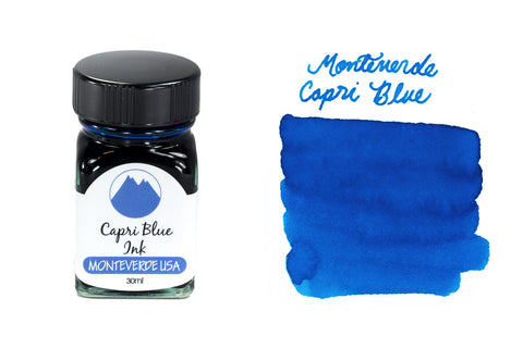 Monteverde Capri Blue - 30ml Bottled Ink