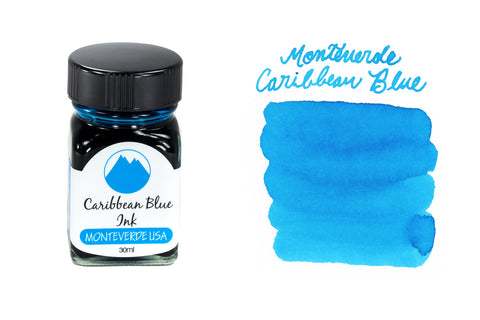 Monteverde Caribbean Blue - 30ml Bottled Ink