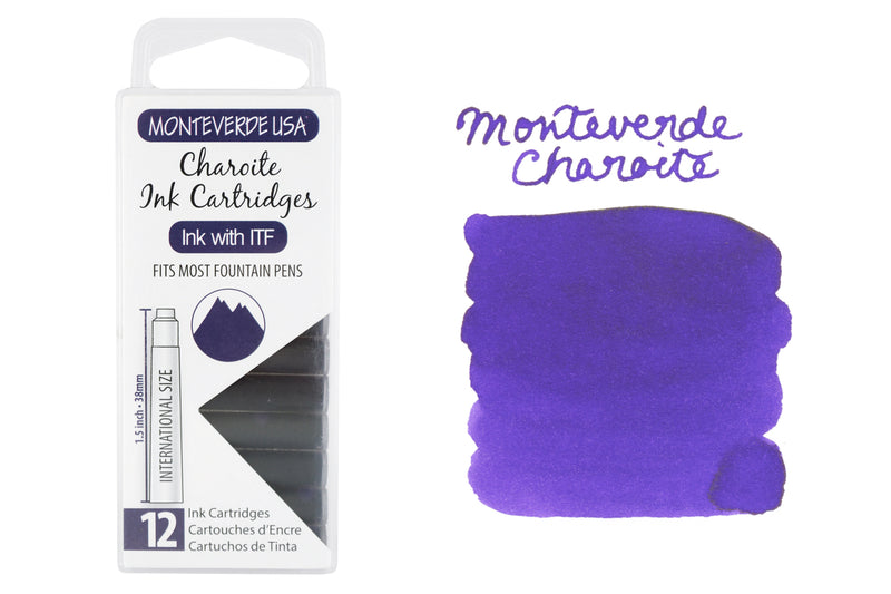 Monteverde Charoite - Ink Cartridges