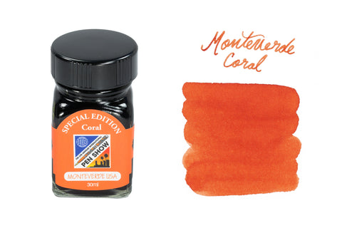 Monteverde Coral - 30ml Bottled Ink