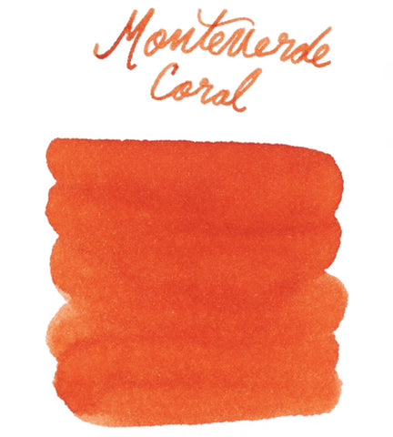 Monteverde Coral - Ink Sample