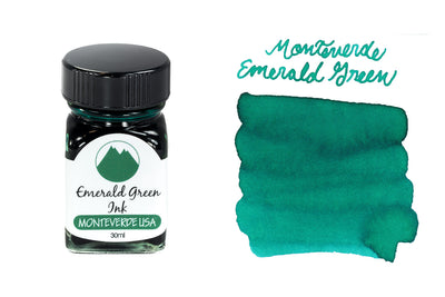 Monteverde Emerald Green - 30ml Bottled Ink