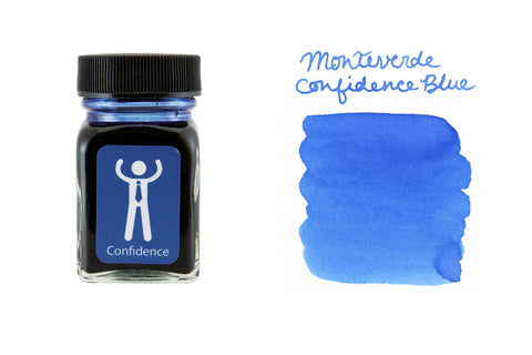 Monteverde Confidence Blue - 30ml Bottled Ink