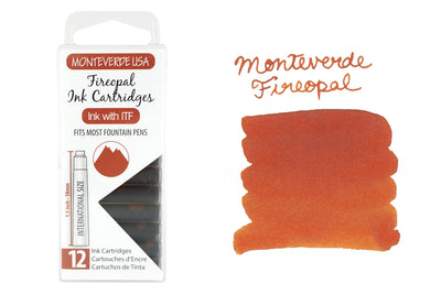 Monteverde Fireopal - Ink Cartridges