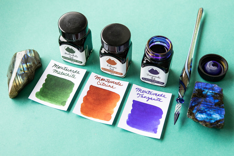 Monteverde Tanzanite - 30ml Bottled Ink