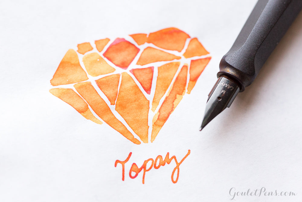 Monteverde Topaz - Ink Sample