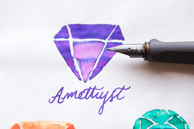 Monteverde Amethyst - Ink Sample