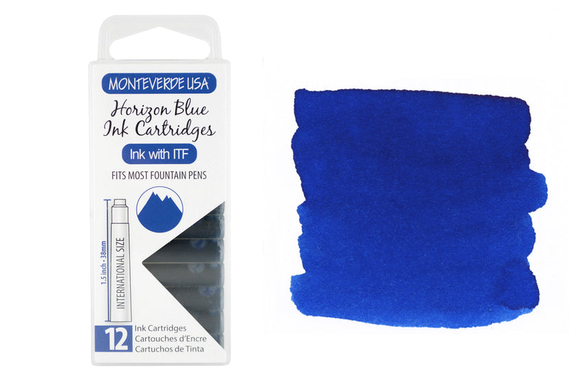 Monteverde Horizon Blue - Ink Cartridges