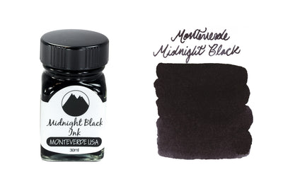 Monteverde Midnight Black - 30ml Bottled Ink