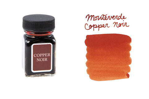 Monteverde Copper Noir - 30ml Bottled Ink