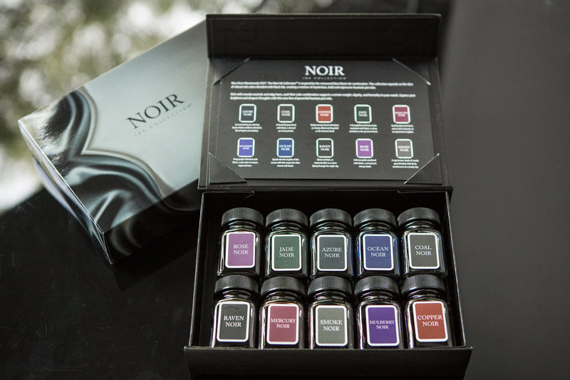 Monteverde Noir 10 Ink Set