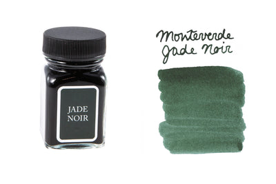 Monteverde Jade Noir - 30ml Bottled Ink
