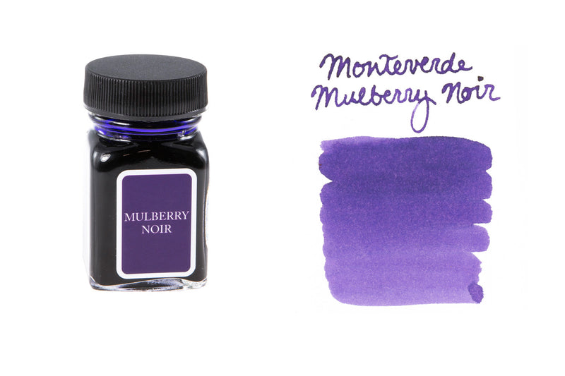 Monteverde Mulberry Noir - 30ml Bottled Ink