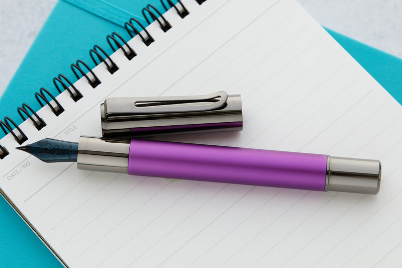 Monteverde Ritma Fountain Pen - Purple