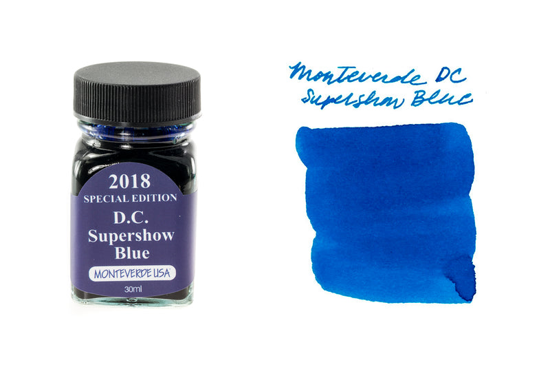 Monteverde DC Supershow Blue - 30ml Bottled Ink