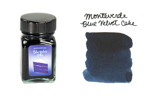 Monteverde Blue Velvet Cake - 30ml Bottled Ink