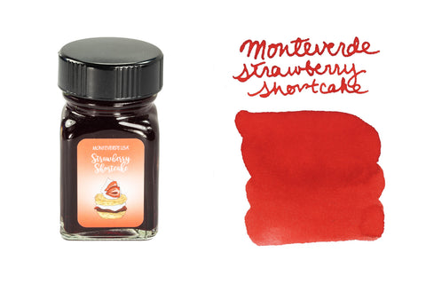 Monteverde Strawberry Shortcake - 30ml Bottled Ink