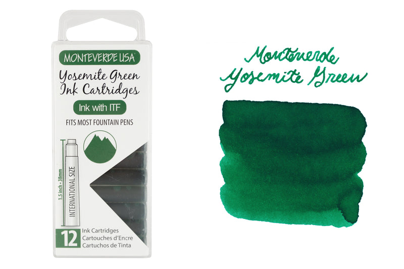 Monteverde Yosemite Green - Ink Cartridges