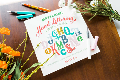 Mastering Hand-Lettering Book