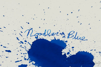 Noodler's Blue - Ink Sample