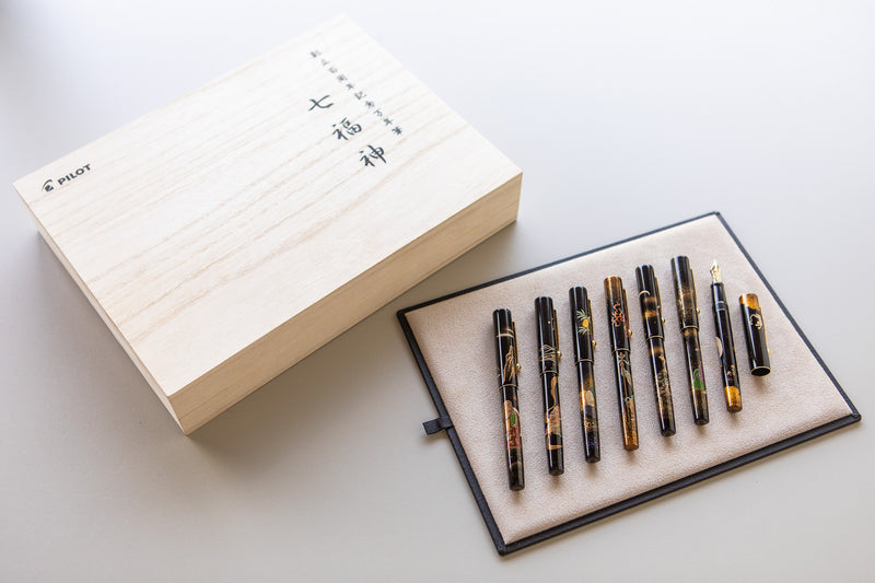 Namiki Yukari Fountain Pen - Seven Gods Set of 7 (100th Anniversary Limited Edition)