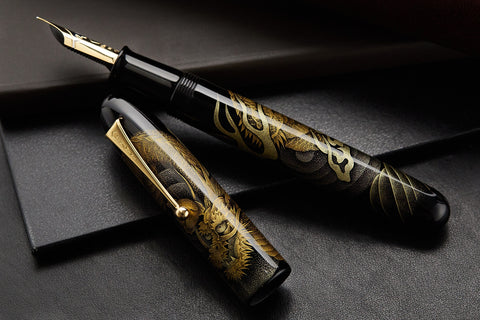 Namiki Emperor Chinkin Fountain Pen - Dragon