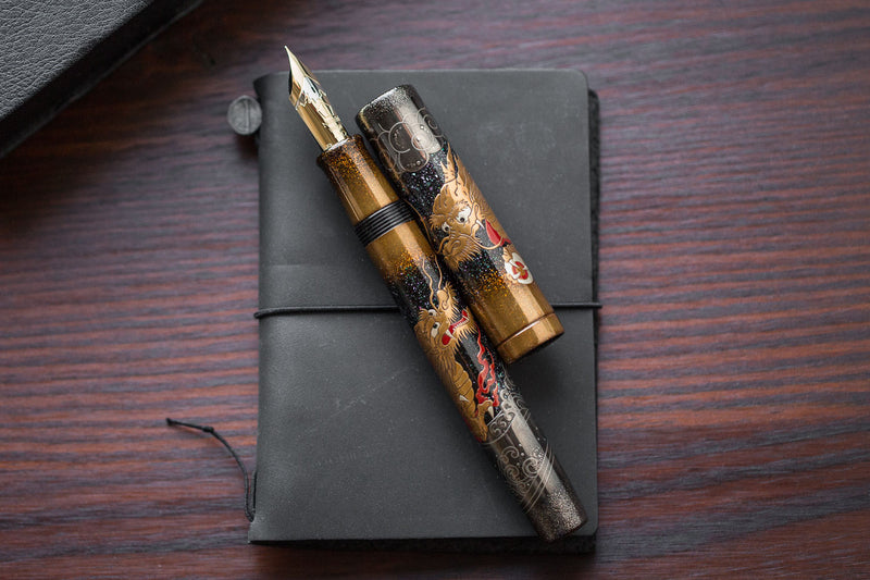 Namiki Emperor Maki-e Fountain Pen - Dragon