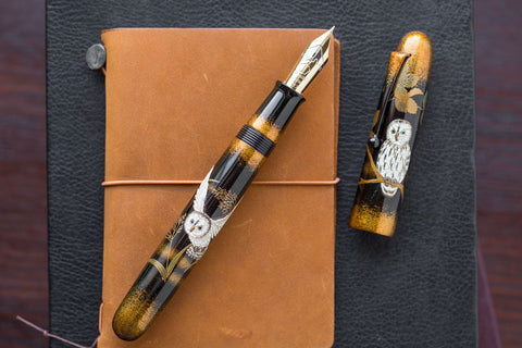 Namiki Emperor Maki-e Fountain Pen - The Owl