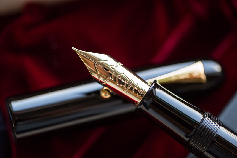Namiki Emperor Urushi Fountain Pen - Black