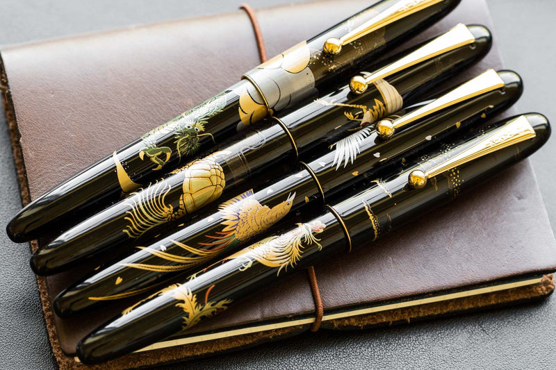 Namiki Nippon Art Maki-e Fountain Pen - Dragon/Cumulus