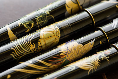 Namiki Nippon Art Maki-e Fountain Pen - Golden Pheasant