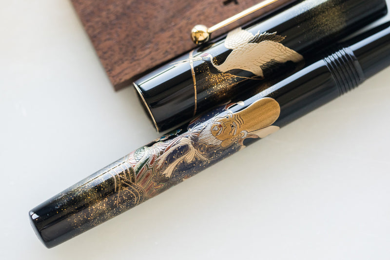 Namiki Yukari Fountain Pen - Seven Gods Fuku-roku-ju (100th Anniversary Limited Edition)