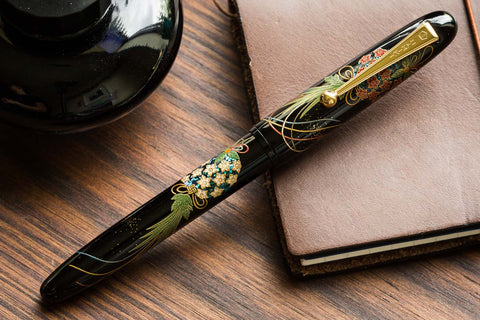 Namiki Yukari Maki-e Fountain Pen - Herb Decoration
