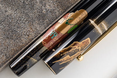 Namiki Yukari Fountain Pen - Seven Gods Hotei-son (100th Anniversary Limited Edition)