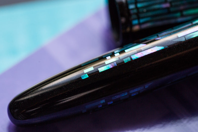 Namiki Yukari Maki-e Fountain Pen - Nightline Moonlight