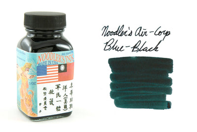 Noodler's Air-Corp Blue-Black - 3oz Bottled Ink