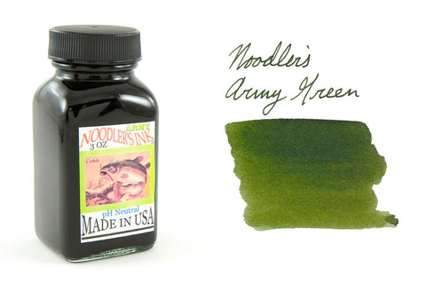 Noodler's Army Green - 3oz Bottled Ink