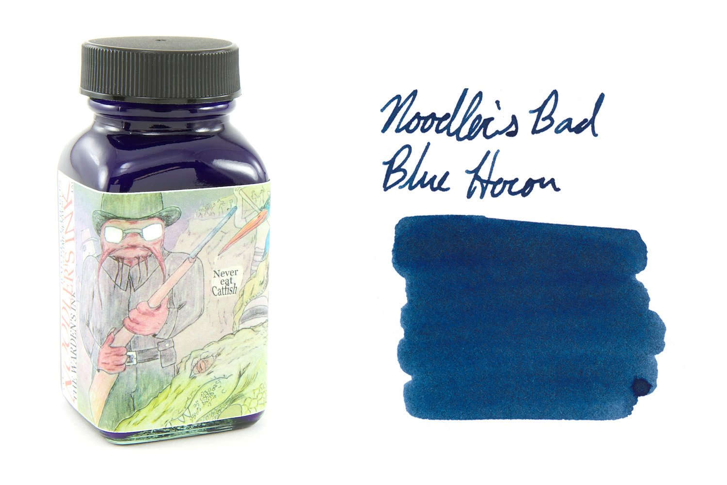 Noodler's Bad Blue Heron - 3oz Bottled Ink