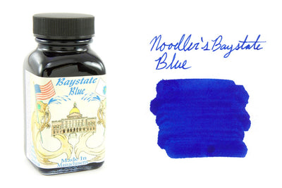 Noodler's Baystate Blue - 3oz Bottled Ink