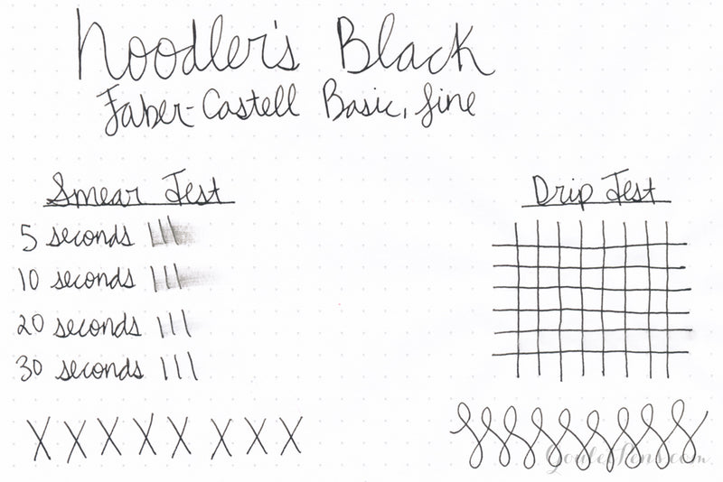 Noodler's Black - 3oz Bottled Ink