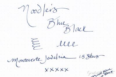 Noodler's Blue-Black - 3oz Bottled Ink