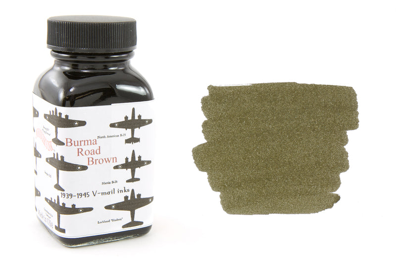 Noodler's Burma Road Brown - 3oz Bottled Ink