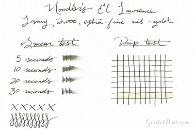 Noodler's El Lawrence - Ink Sample