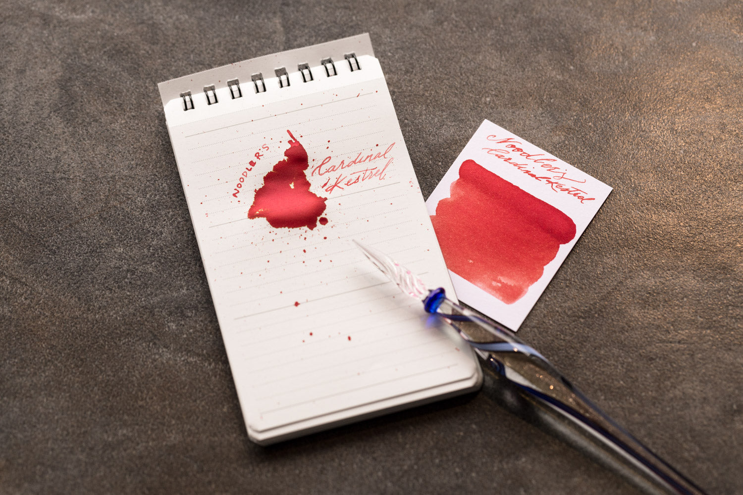 Noodler's Cardinal Kestrel - Ink Sample
